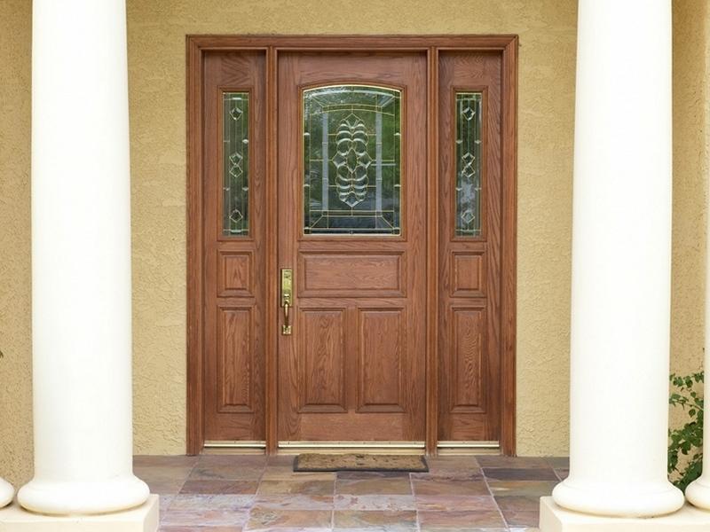 купить элитные входные двери из массива
