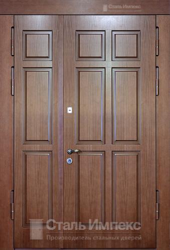 входные двустворчатые двери от производителя